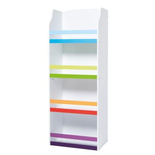 Bibliothèque multicolore Oxybul pour enfant dès 3 ans prix promo ...