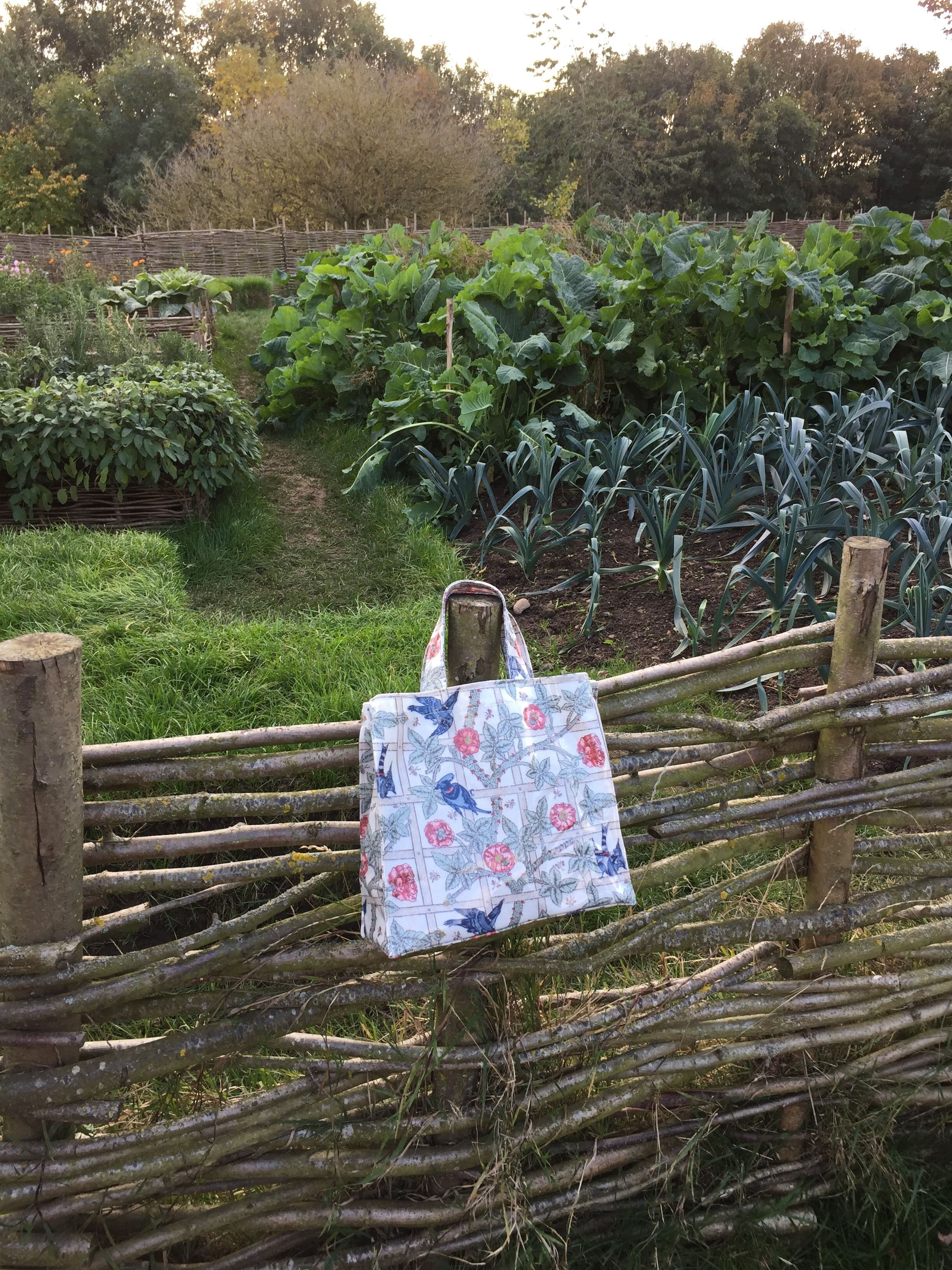 Our Small William Morris Trellis Bag Looking At Home In