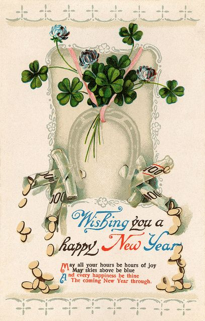 Pin by Eleanor Martinez on Happy New Year | Pinterest | Vintage ...