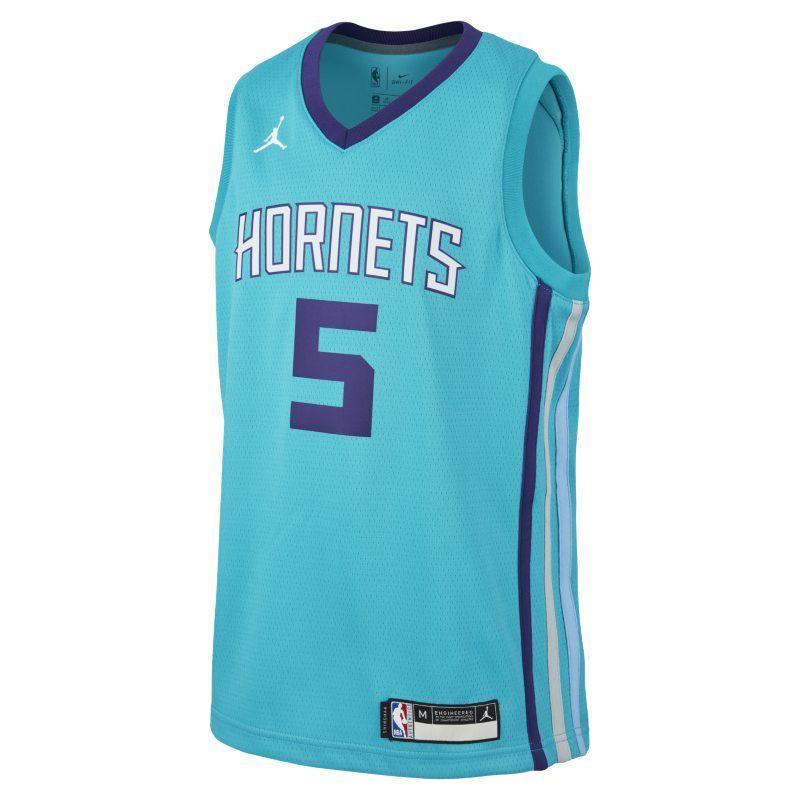 Charlotte Hornets Nicolas Batum Statement Purple Swingman Jersey
