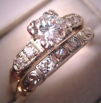 Pin On Beautiful Jewelry Vintage Engagement Wedding Rings And Ads