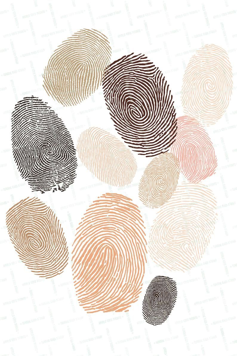 Diversity Wall Art Racial Equality Fingerprint Printable Etsy Black Lives Matter Art Racial Equality Art