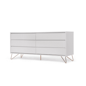 Aufbewahrungsmöbel elona breite kommode grau und kupfer bedrooms dressing room and
