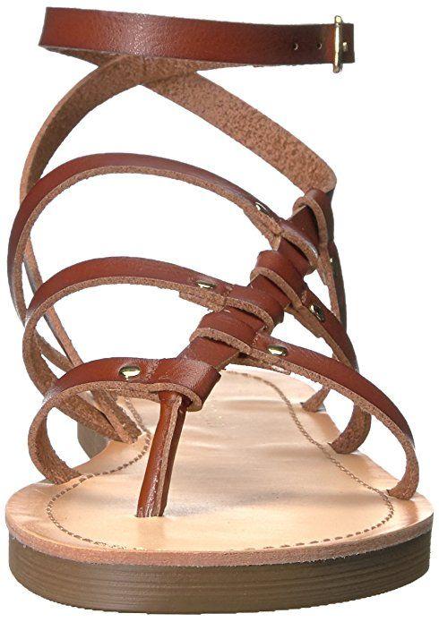fe30c7a47866 Madden Girl Women s Laando Gladiator Sandal Flats