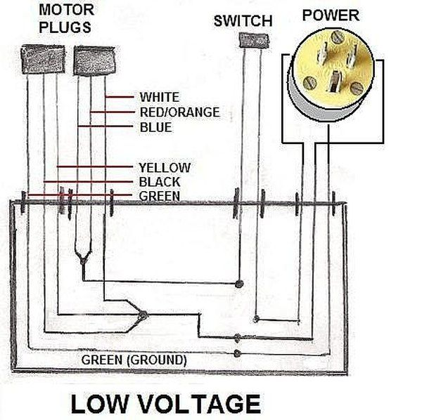 How To Wire An Electric Motor To Run On Both 110 And 220 Volts Hunker Electric Motor Electricity Electric House