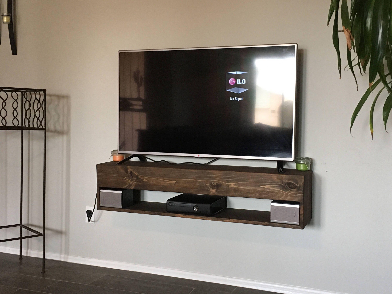 Floating Wood Shelves For Electronics Floating Shelves