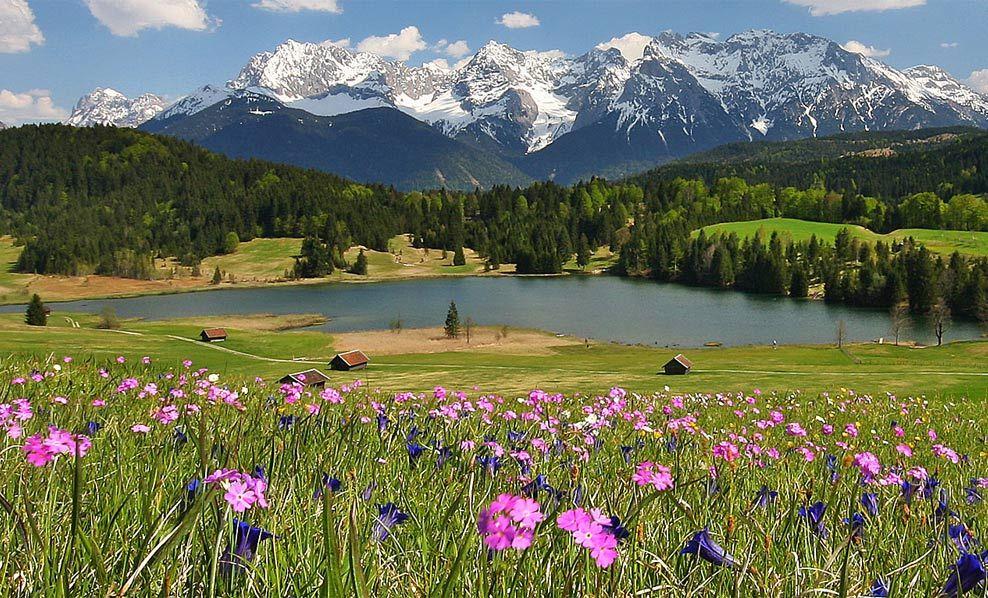 Bawaria Niemcy Schone Landschaften Urlaub Bayern Naturbilder