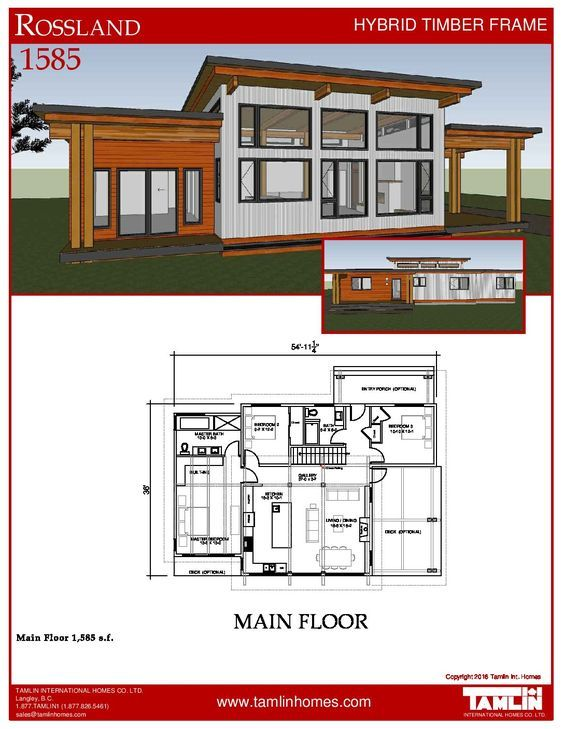 The Rossland - 1585 Square Feet in 2018   Cabin   Pinterest ...