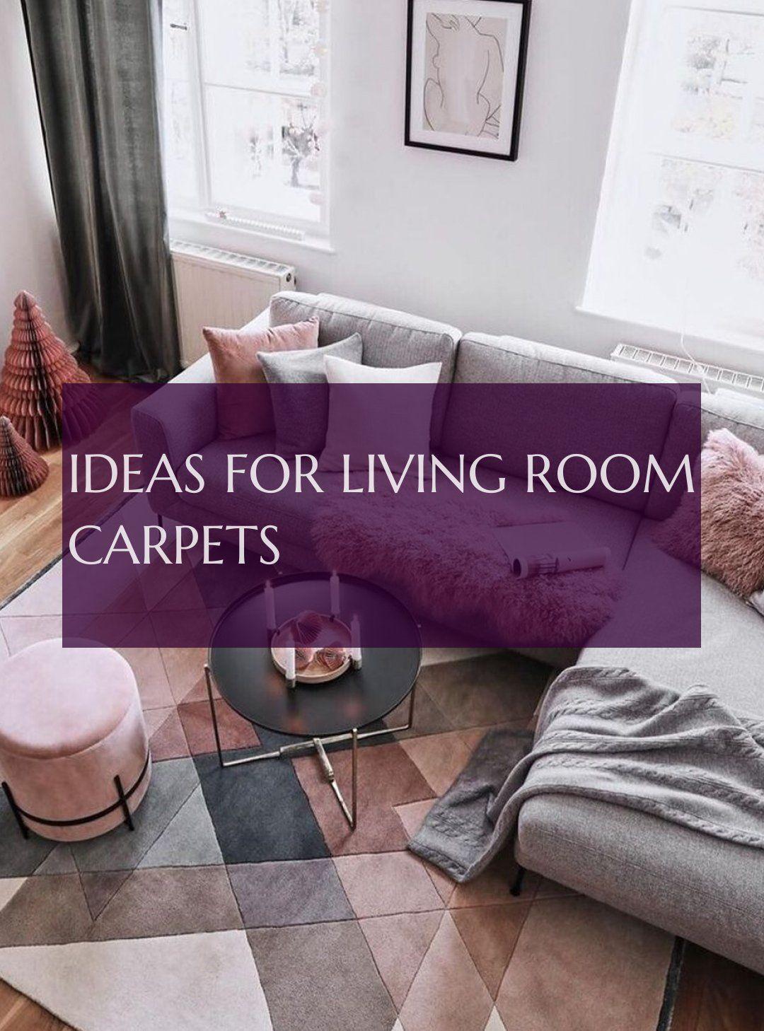 Ideas For Living Room Carpets Ideen Für Wohnzimmerteppiche Idées