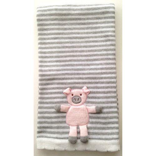 Found it at Wayfair - Piggy 3D Stroller Blanket