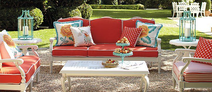 Love These Colors Outdoor Furniture Sets By Frontgate Patio
