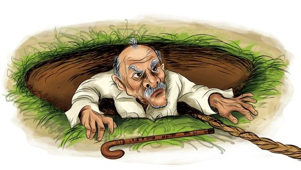 A 90-year-old man had a miraculous escape after falling into an  80-feet-deep dry well in a village in Tiruvallur district on Frida… |  Elderly man, Dry well, Amusing
