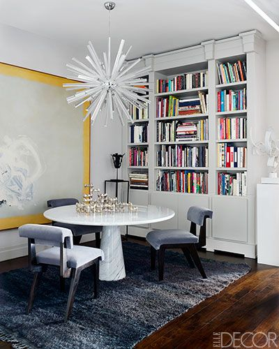 Never forget to have your lighting make a statement // Dining Rooms
