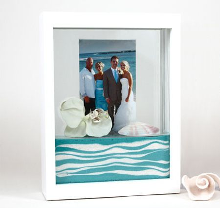 Unity Sand Ceremony White Picture Frame