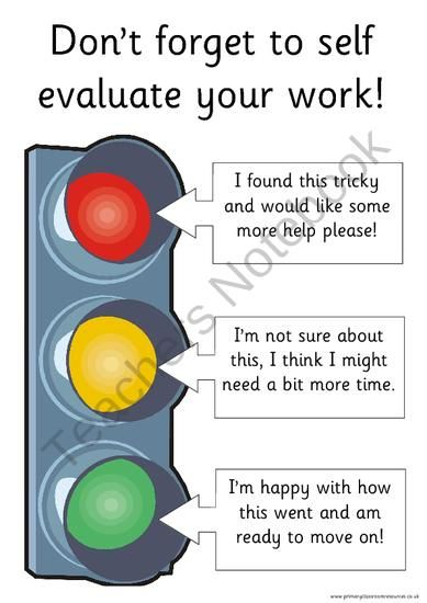 Self Evaluation Pack - 3 different themes included from Primary