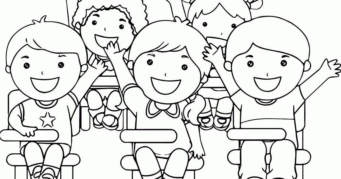 Keren 30 Gambar Kartun Tema Sekolah Gambar Anak Sekolah Kartun Hitam Putih Nusagates Download Galeri Gambar Di 2020 Halaman Mewarnai Lembar Mewarnai Buku Mewarnai