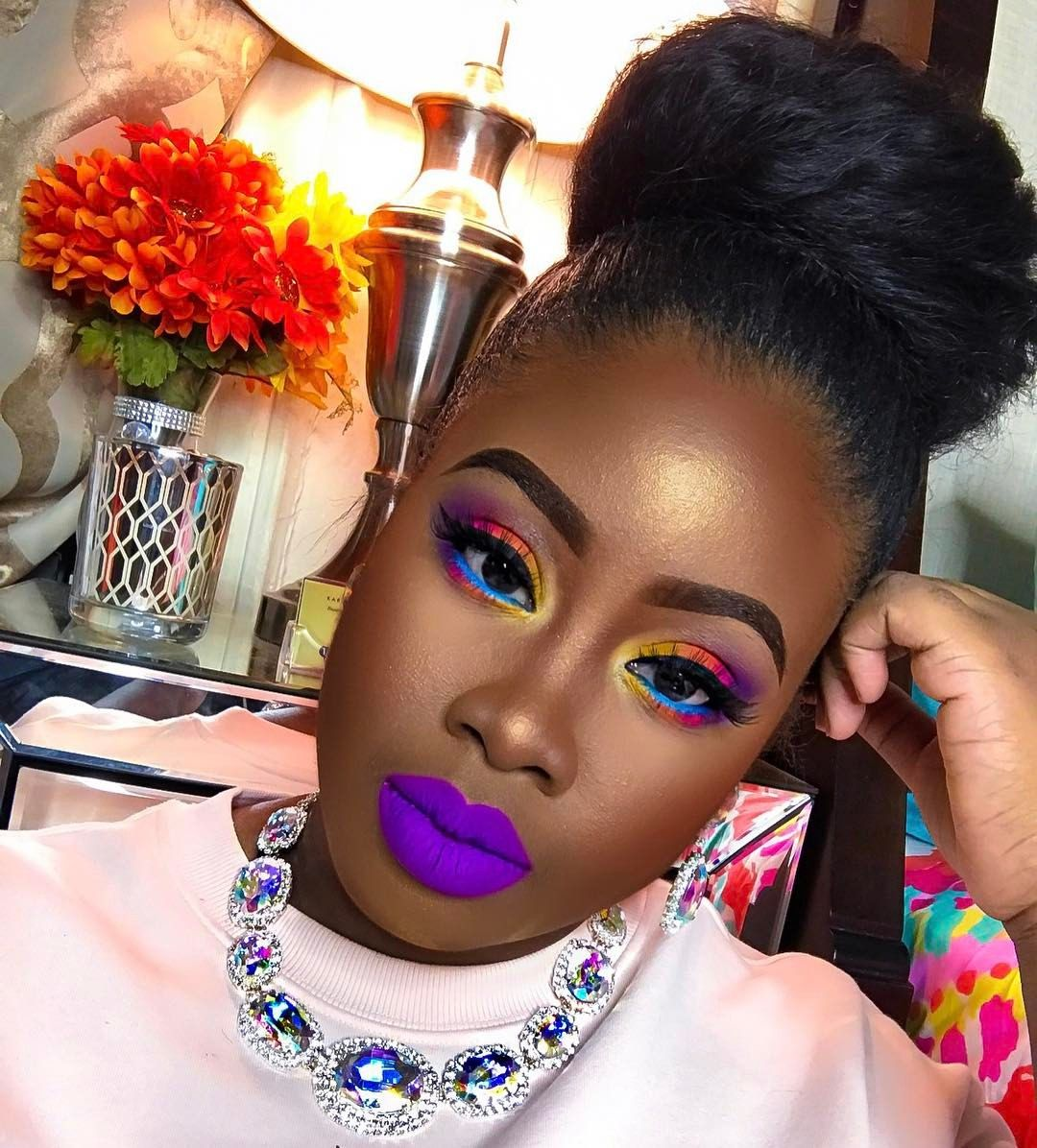 "21.1k Likes, 677 Comments - 🎀👑💄💁 KARLA TOBIE 💁💄👑🎀 (@princessbellaaa) on Instagram: ""Dont forget to purchase your ticket to my MAKEUP MASTER CLASS !!! Link in bio !! NY 🙌🏾🙌🏾👏🏾❤…"""