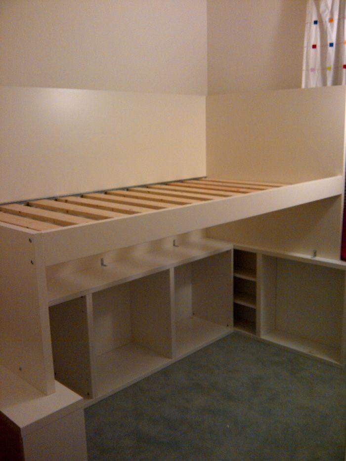 besta odda loft bed handmade diy pinterest lit sur lev ado et orph e. Black Bedroom Furniture Sets. Home Design Ideas
