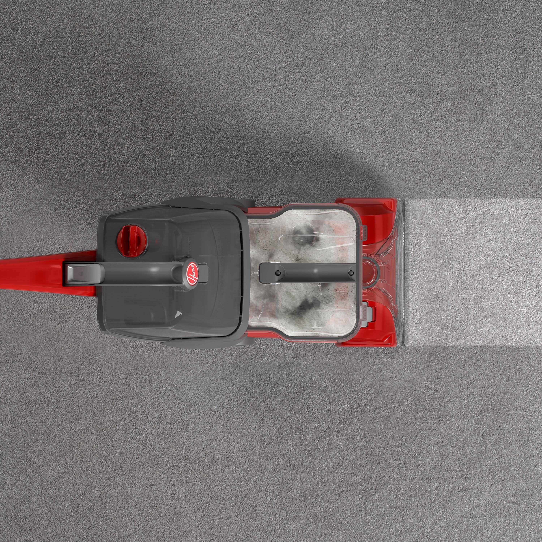 Hoover power scrub carpet cleaner w spinscrub technology