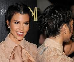 Kourtney Kardashian Braided Hairstyles Google Search