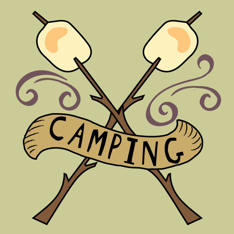 Camping Clipart summer clipart bullet journal stickers   Etsy in 2020   Camping  clipart, Clip art, Journal stickers