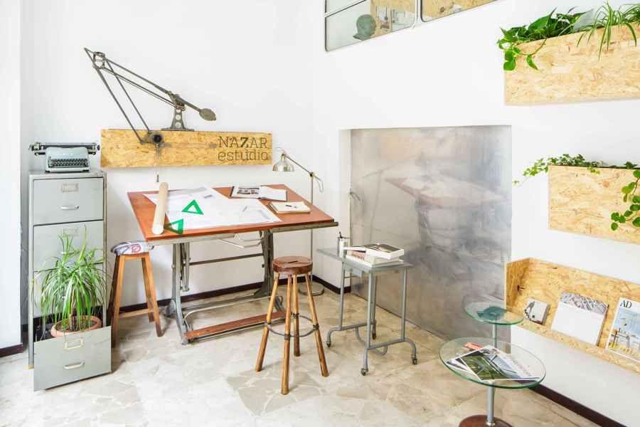 Despacho Profesional en Madera y Toques Vintage | Ideas Reformas Oficinas
