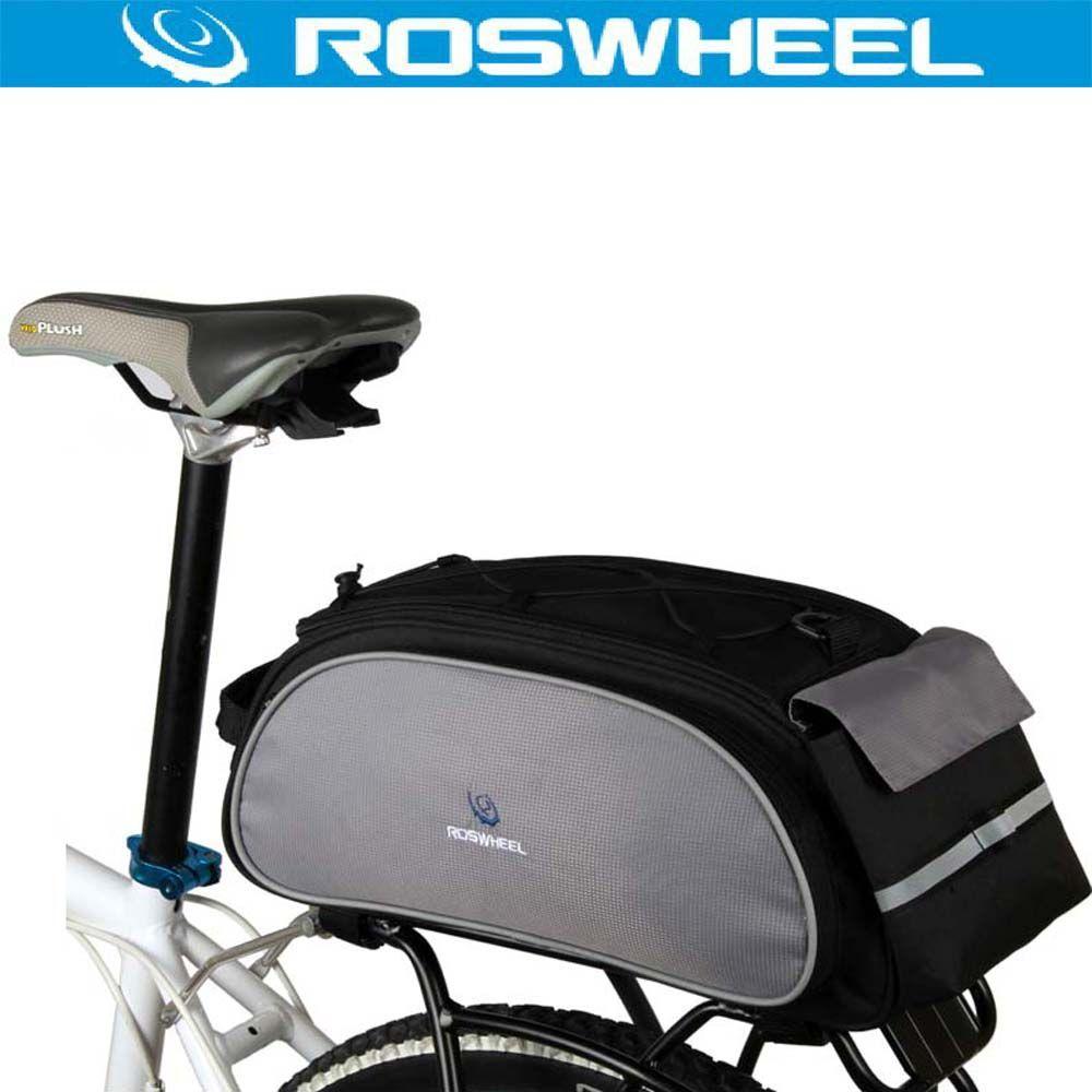 GEARONIC TM Cycling Bike Bicycle Rear Tail Seat trunk Bag Pannier Pouch Rack ...