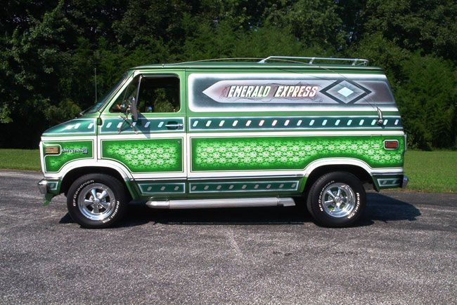 Vintage chevy van club