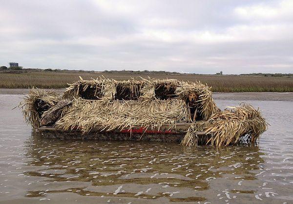 Venom Outdoor Custom Built Boats Duck Hunting Blinds