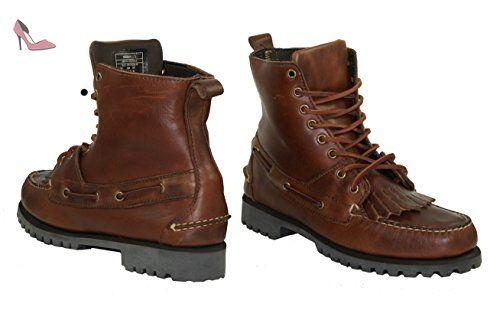 Sebago artisan delancey b10114 bottes homme, Marron - Marron (rouille), 45 - Chaussures sebago (*Partner-Link)