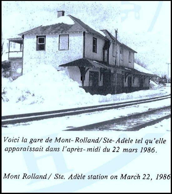 MONT ROLLAND ( Ste-Adèle ) Québec