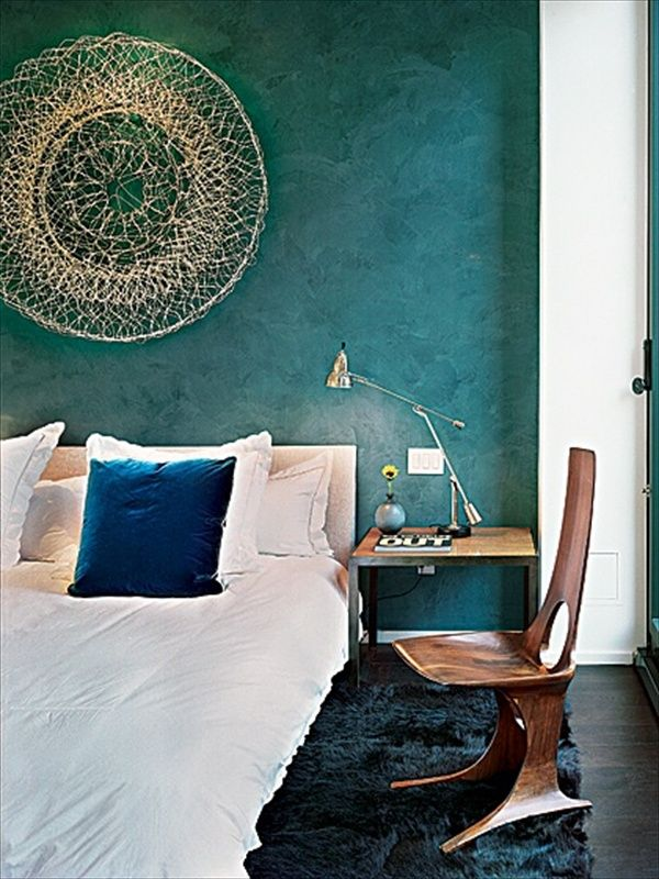 fabulous gold bedroom decorating ideas | teal bedrooms | 12 Fabulous Look Teal Bedroom Ideas - 6 ...