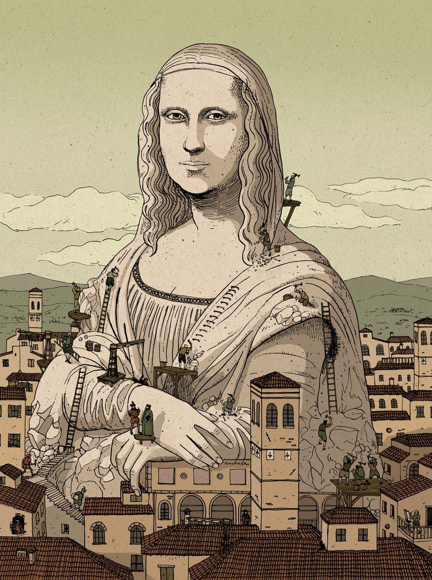 La Monumentalidad de un Cuadro - Nicolás Castell