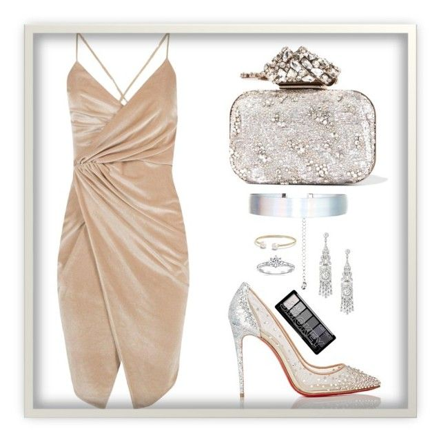 Untitled #569 by claire394 on Polyvore featuring Boohoo, Christian Louboutin, Jimmy Choo, Accessorize and David Yurman