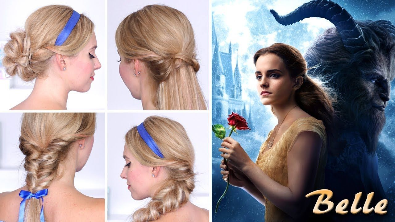 Beauty And The Beast Belle S Hairstyles For Every Day Hair Tutorial Youtube Belle Hairstyle Disney Hairstyles Everyday Hairstyles