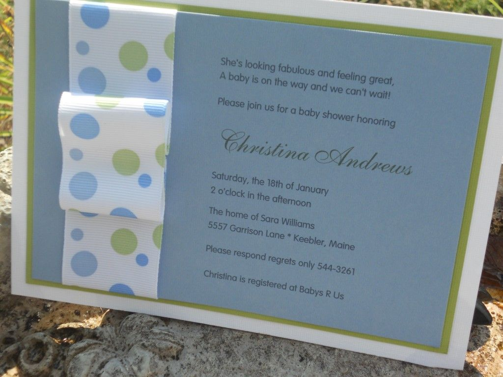 baby shower invitation | Craft Ideas | Pinterest | Shower ...