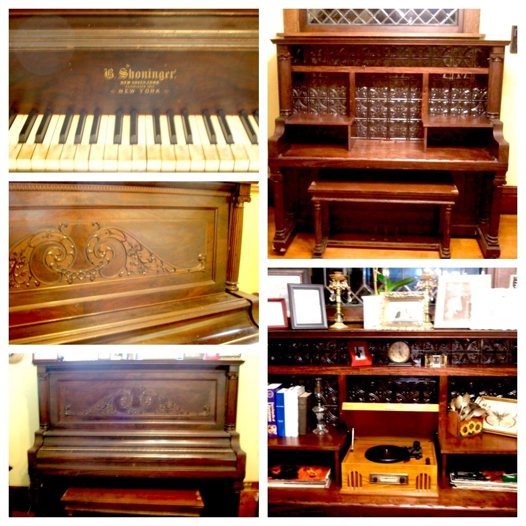 Old piano recycling project. I was just given an antique ...