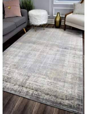 Bungalow Rose Donita Gray Area Rug In 2021 Rugs On Carpet Area Rug Dining Room Living Room Area Rugs