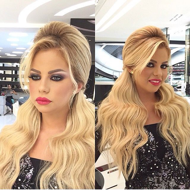 Kurdish hårs models makeup