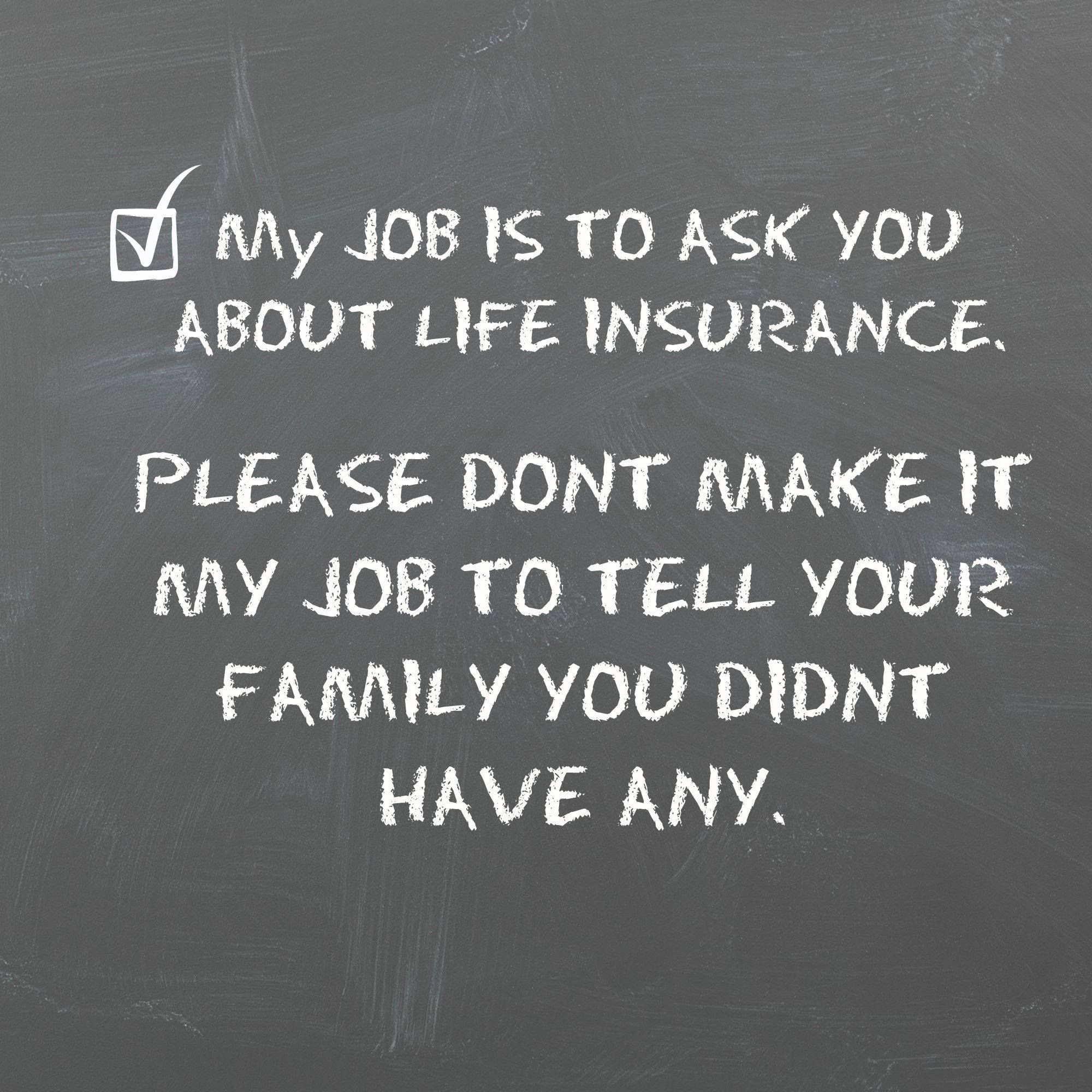 Family Life Insurance Quotes: Life Insurance Agent, Life Insurance Awareness Month