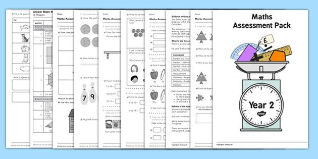 Year 2 Maths Assessment Pack Term 1 Teaching – Maths Worksheet Year 2