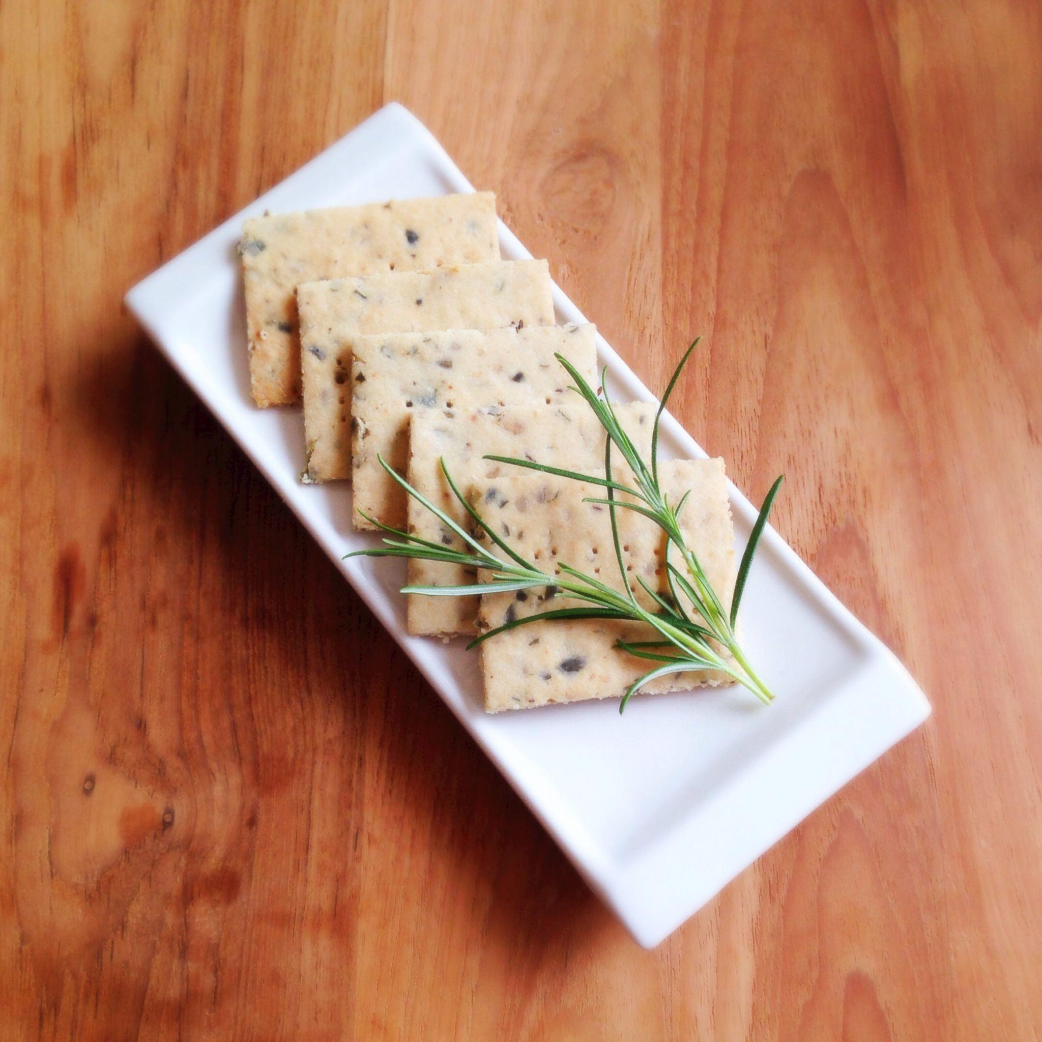 Paleo friendly savoury herb biscuits