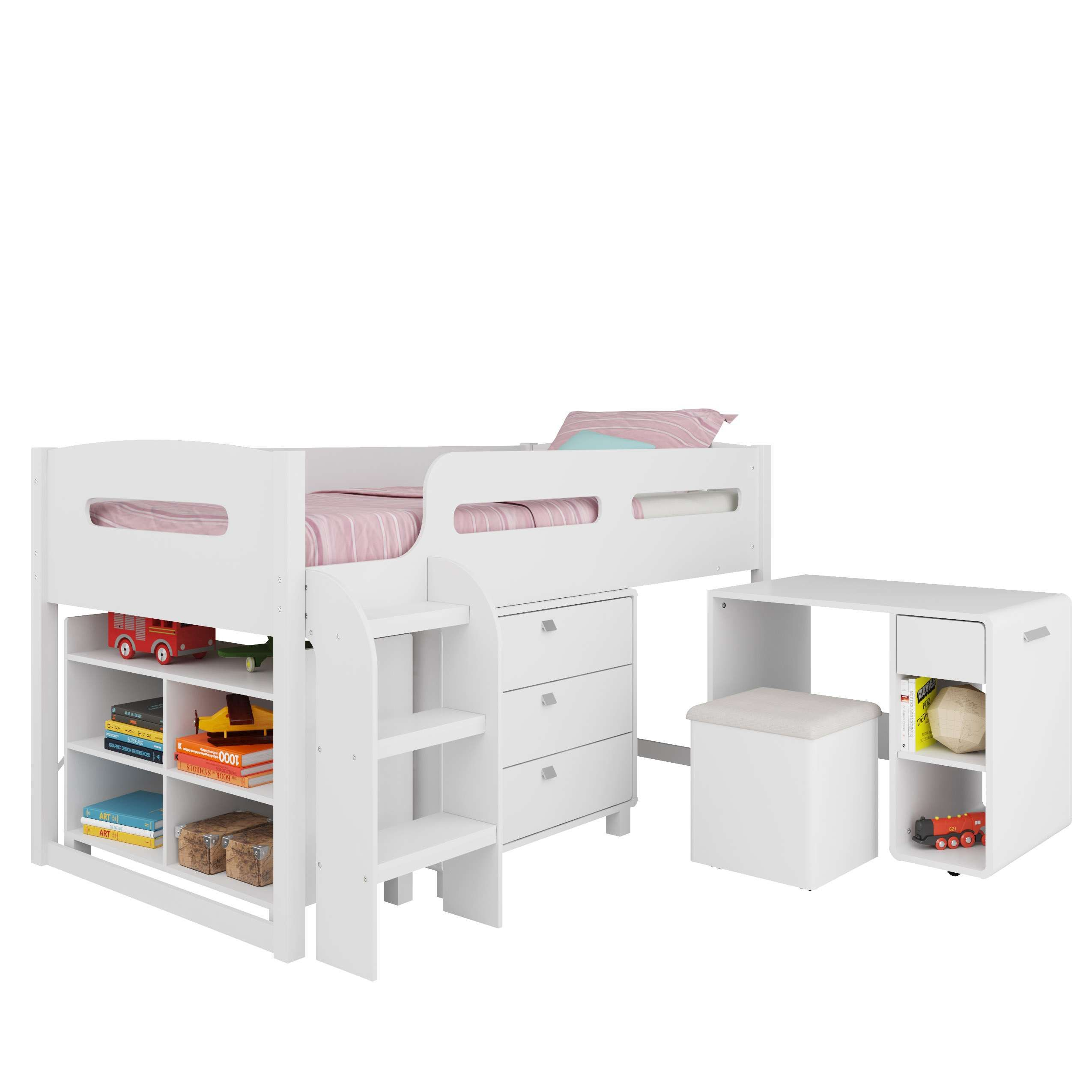 Mobby loft bed with stairs  Lowest price on CorLiving Madison  Piece AllinOne SingleTwin