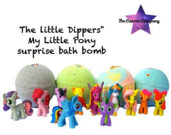 Little Dippers Princess Surprise Bath Bomb by thecosmiccompany