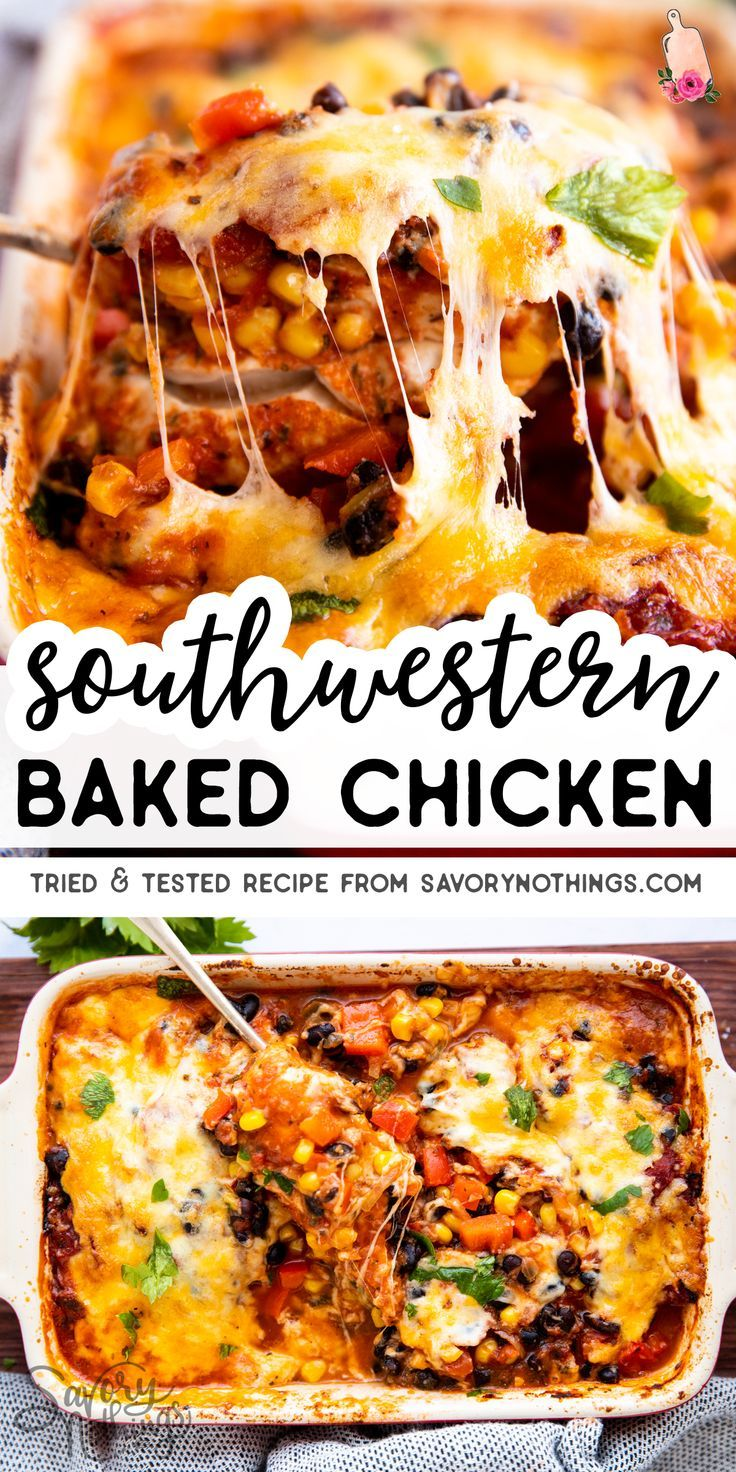"Photo of ""Dump and Go"" Southwestern Baked Chicken"