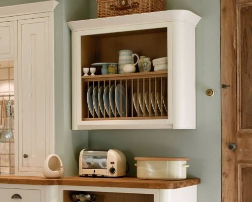 Howdens Plate Rack Wall Unit Haworth White Could Make One From A Cabinet Box