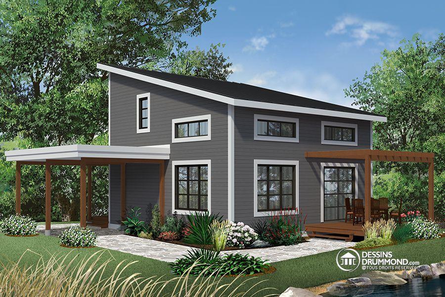 Détail du plan de Maison unifamiliale W3968 My futur Tiny house