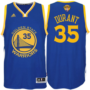 Kevin Durant Jersey  adidas  The Finals  Royal Blue Swingman  35 Golden  State Warriors Road Jersey 6e742a4cd