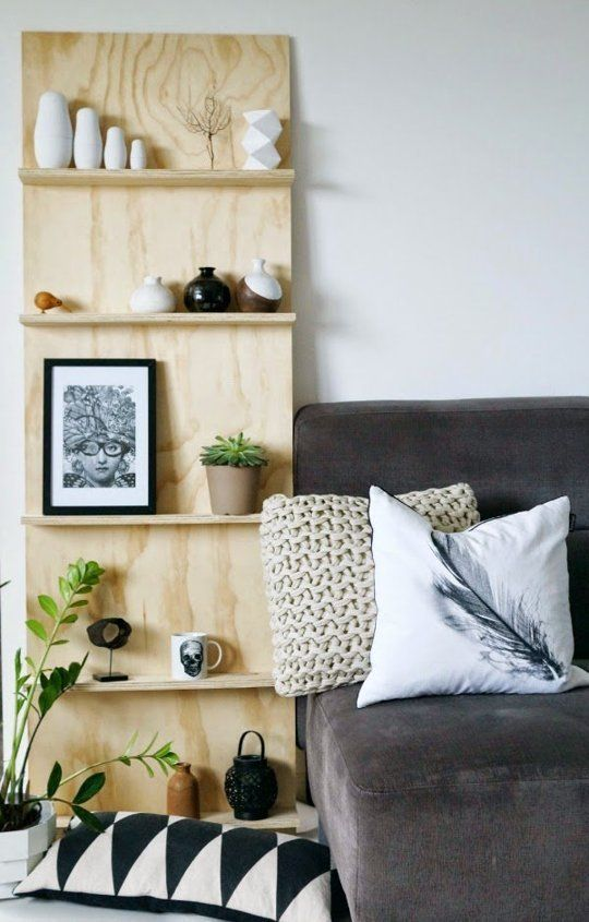 die besten 25 freistehende regale ideen auf pinterest. Black Bedroom Furniture Sets. Home Design Ideas