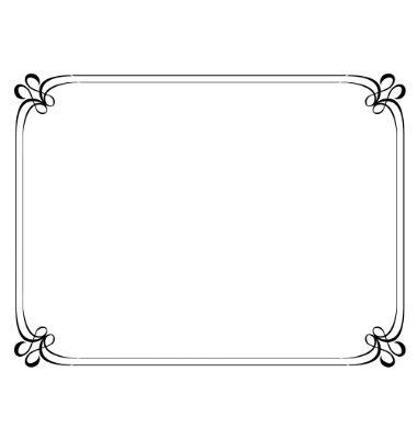 Simple vintage frame png